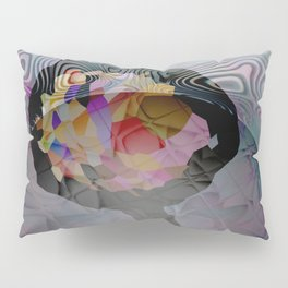 Space Flower Pillow Sham