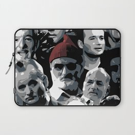 The many faces of Bill Murray Laptop Sleeve