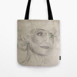 Home Decor Drawing Woman Digital Digital Sketch Modern Room Wall Art Wall Hanging Tote Bag