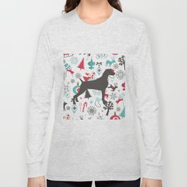 HOLIDAY WEIMARANER Long Sleeve T-shirt
