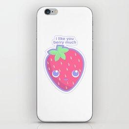 Cute Strawberry iPhone Skin