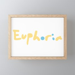 Euphoria From BTS Jungkook Framed Mini Art Print