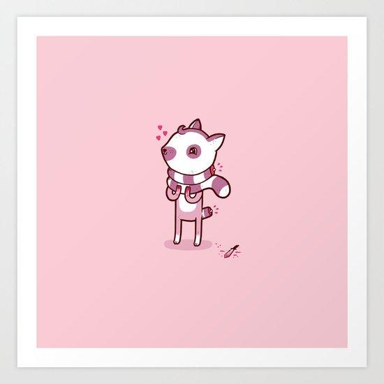 Lemur Chic Art Print