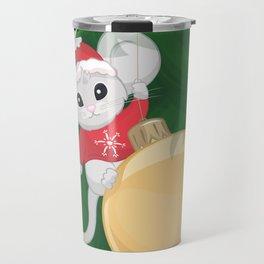 Christmas Mouse Travel Mug