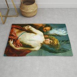 Anthony van Dyck Icarus and Daedalus Rug