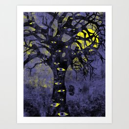 The Vision Tree Art Print