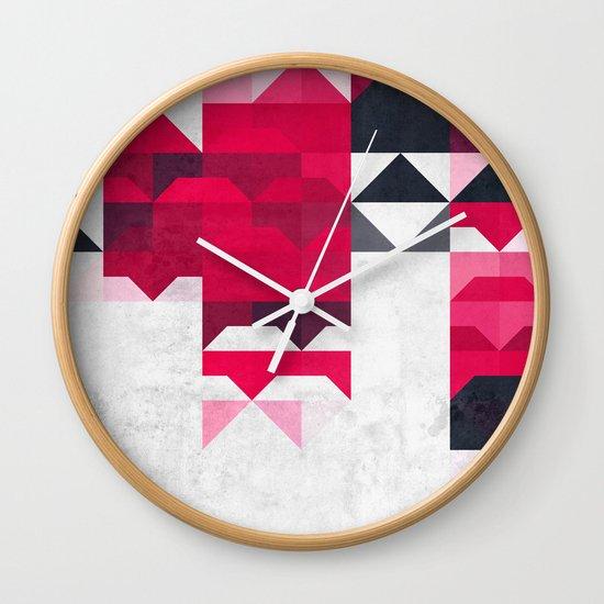 ryspbyrry xhyrrd Wall Clock