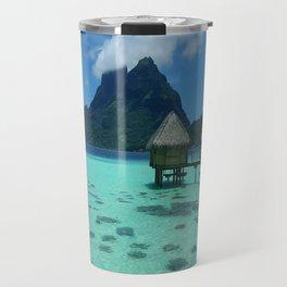 Bora Bora Bungalow Travel Mug