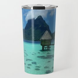Bora Bora Bungalow Travel Mug