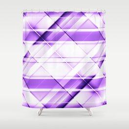 modern stripes pattern c6i Shower Curtain