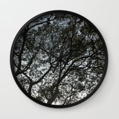 Under the trees II Wall Clock