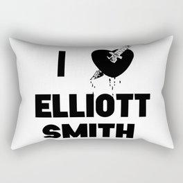 I Heart Elliott Smith Rectangular Pillow