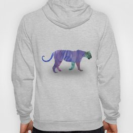 Low Poly Tiger (Color) Hoody