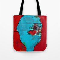 marx Tote Bags featuring Marx by Alec Goss