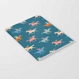 Naked derby dark blue Notebook
