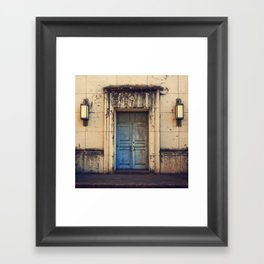 Doors are made to be Open! Framed Art Print