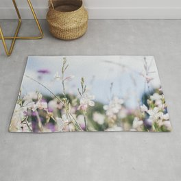 Flower Photography by frouke decat Rug