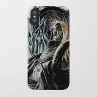 thranduil iPhone & iPod Cases featuring Thranduil by Melo Monaco