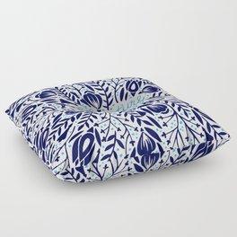 Adventure is Calling – Porcelain Palette Floor Pillow