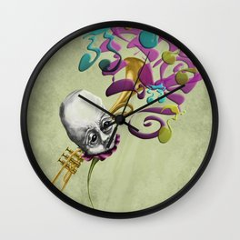 Music to my Ears Wall Clock