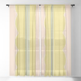 Luella - Spring Petals Sheer Curtain