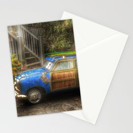 Off to Fulfill a Surfing Dream Stationery Cards