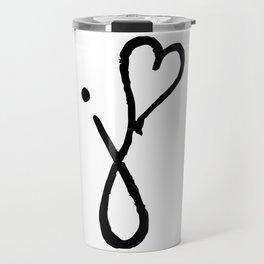 J Heart Travel Mug