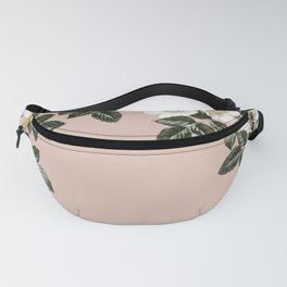 Bee Blackberry Bramble Coral Pink Fanny Pack