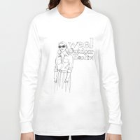outdoor Long Sleeve T-shirts featuring week Outdoor Ecoliv by Rainer Berg