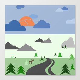 Wilderness eScape Canvas Print