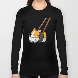 Corgi Sushi Long Sleeve T-shirt