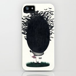 INSIDE MY HEAD iPhone Case