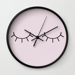 The Last Lash Wall Clock