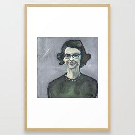 Flannery O'Connor Framed Art Print