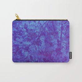 Pink & Purple Blossoms Carry-All Pouch