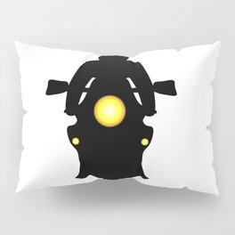 Motorcycle Silhouette Pillow Sham