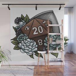 Paladin Class D20 - Tabletop Gaming Dice Wall Mural