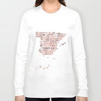 spain Long Sleeve T-shirts featuring Spain by eneasmarin
