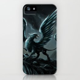 Dark Gryphon iPhone Case