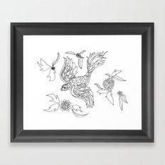 Bird in Paradise Framed Art Print
