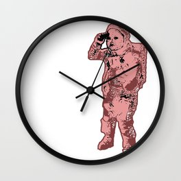 Space, Baby. Wall Clock