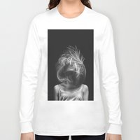 wind Long Sleeve T-shirts featuring Wind by Illustratic