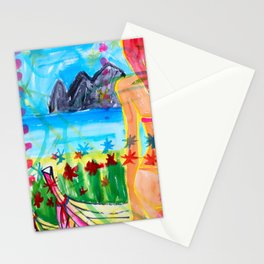 Koh pipi island in Thailand Stationery Cards