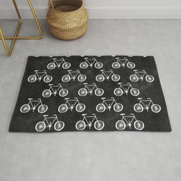 Bicycle Pattern Rug
