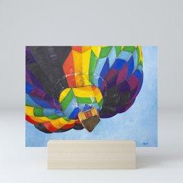 Hot Air Balloon Mini Art Print