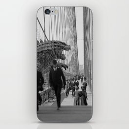 Old Time Godzilla vs. King Kong iPhone Skin