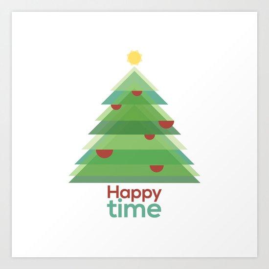 Happy time Art Print