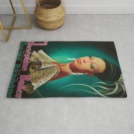 1949 Josephine Baker Folies Bergere, Paris Performance Vintage Poster Rug