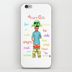 Angryocto - Jim's Lasthope iPhone & iPod Skin