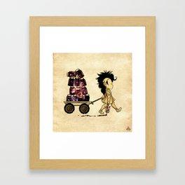 Hazy Cosmic Keepsakes Framed Art Print